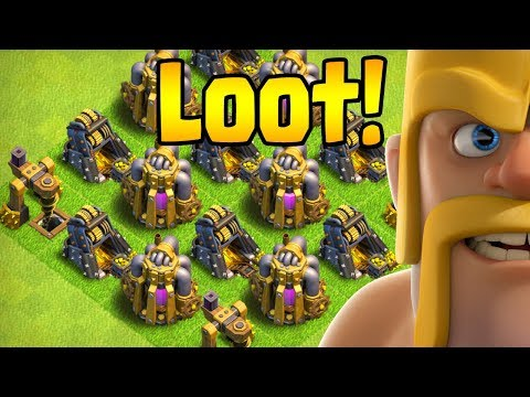 LET'S LOOT!  40 Walls to Go!  TH10 Farm to Max LIVE STREAM | Clash of Clans