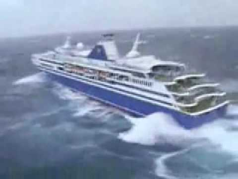 Cruise Ship Getting Tossed Around By Huge Swells YouTube - Cruise ship turns over