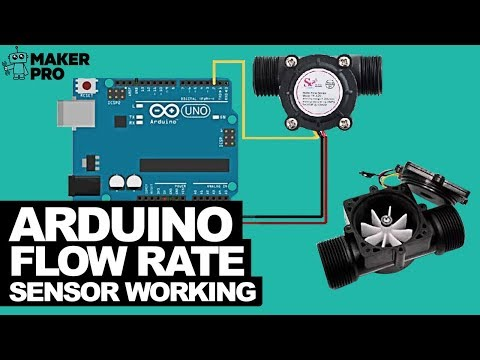 How to Interface an Arduino With a Flow Rate Sensor to Measure