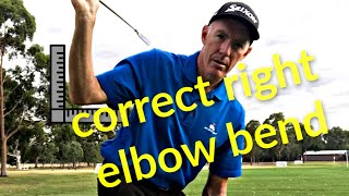 Right arm bend in the golf swing | 3 faults and how to correct them