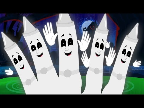 Five Little Ghost  Scary Nursery RHymes  Kids Songs  Children Rhymes