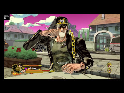 JoJo's Bizarre Adventure: Eyes Of Heaven - All Cafe Animations (NA Version)