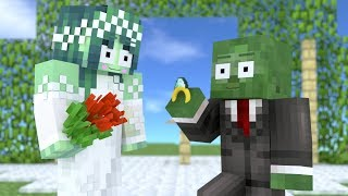 Monster School : Wedding - Minecraft Animation