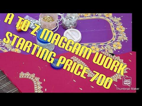 Maggam work shop hyderabad 9059286778