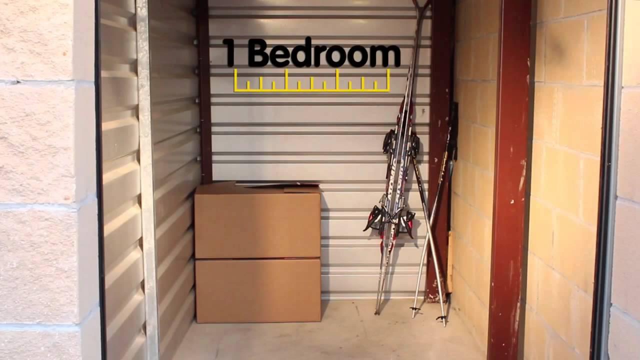 & 5x10 Self Storage Unit Size Guide - YouTube
