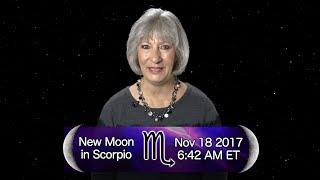 New Moon in Scorpio 2017