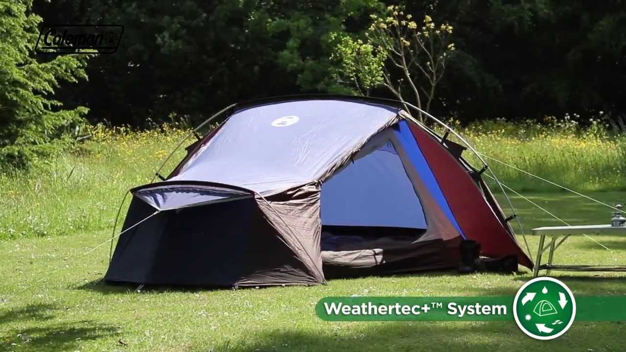 & Coleman® Cobra 3 - Lightweight excursion u0026 backpacking tent - YouTube