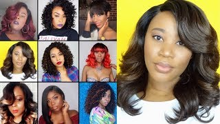 Holiday Wig Collab | Simple Everyday Hair | Freetress Equal Leanna | Op430 +Giveaway(Closed)