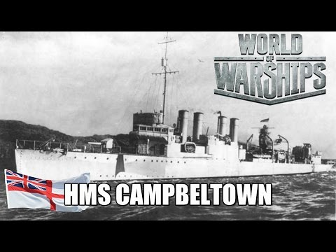 World of Warships - HMS Campbeltown