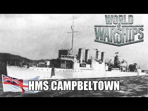 World of Warships - HMS Campbeltown