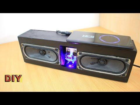 DIY: Homemade Stereo Audio Amplifier 3.5mm