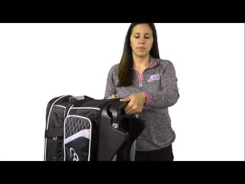 Columbia Team C300 2 Bowling Ball Roller Bag