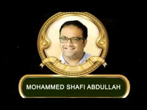 Mohammed Shafi Abdullah Haji Moosa - Managing Director of Telephony Group of Companies