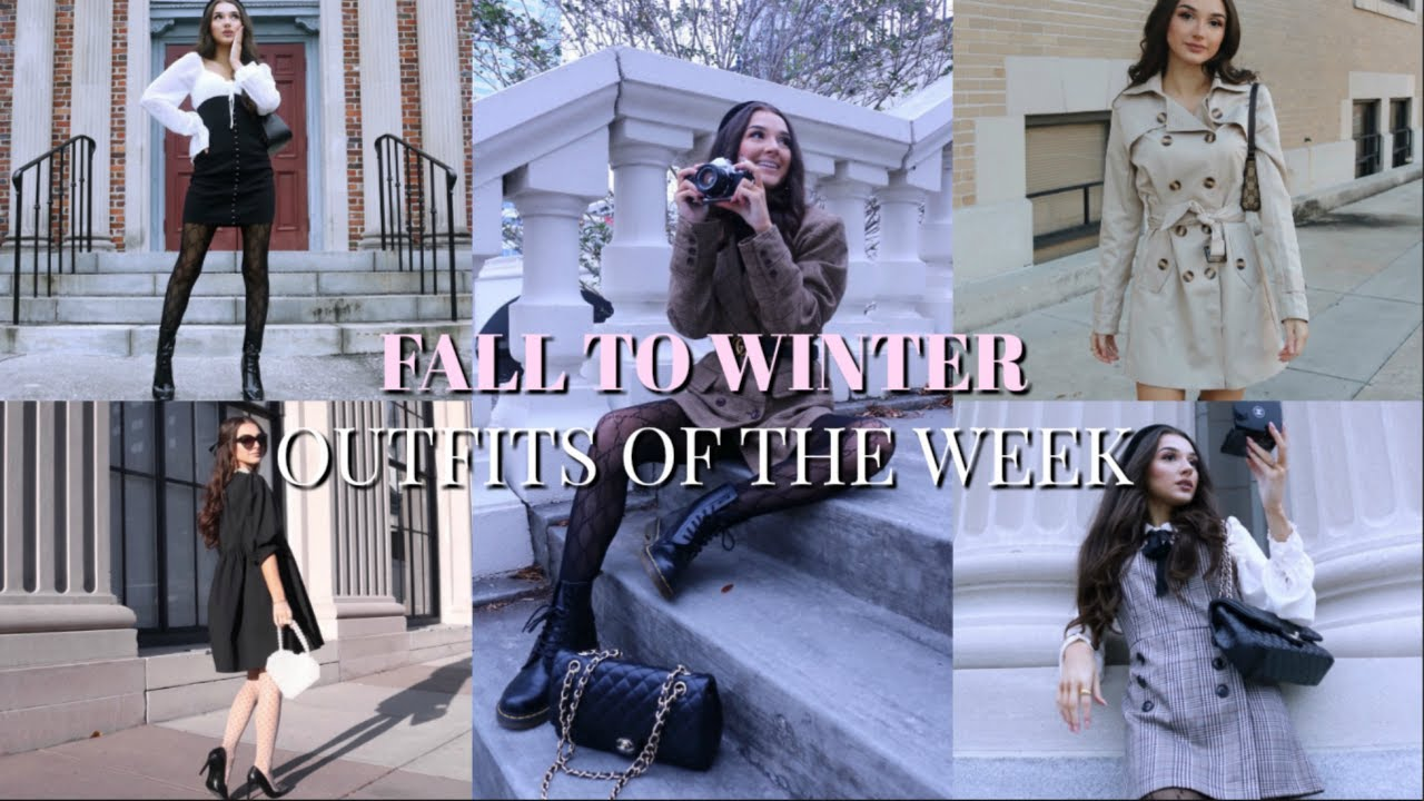 [VIDEO] - OOTW: FALL TO WINTER LOOKBOOK | Haley Marie 5