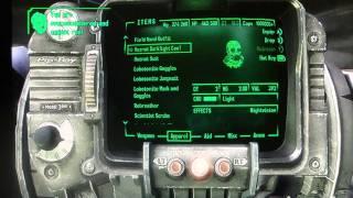 Fallout New Vegas- Old World Blues- Hazmat suit location ( Tutorial)