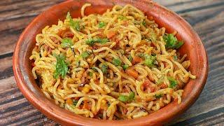 Masala Maggi Recipe | Vegetable Masala Maggi | Easy Snacks Recipe | Toasted