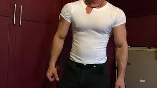 SHIRT RIP WHEN I FLEX | Muscle Worship Cam Show Custom Videos