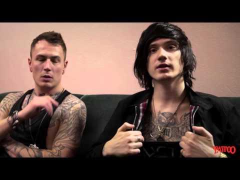 ASKING ALEXANDRIA -Tattoo Magazine Interview
