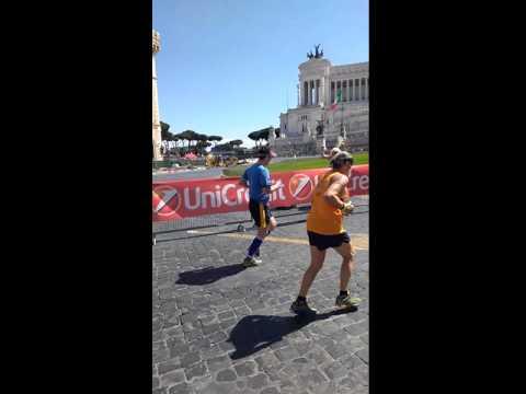 Post Rome Marathon steps