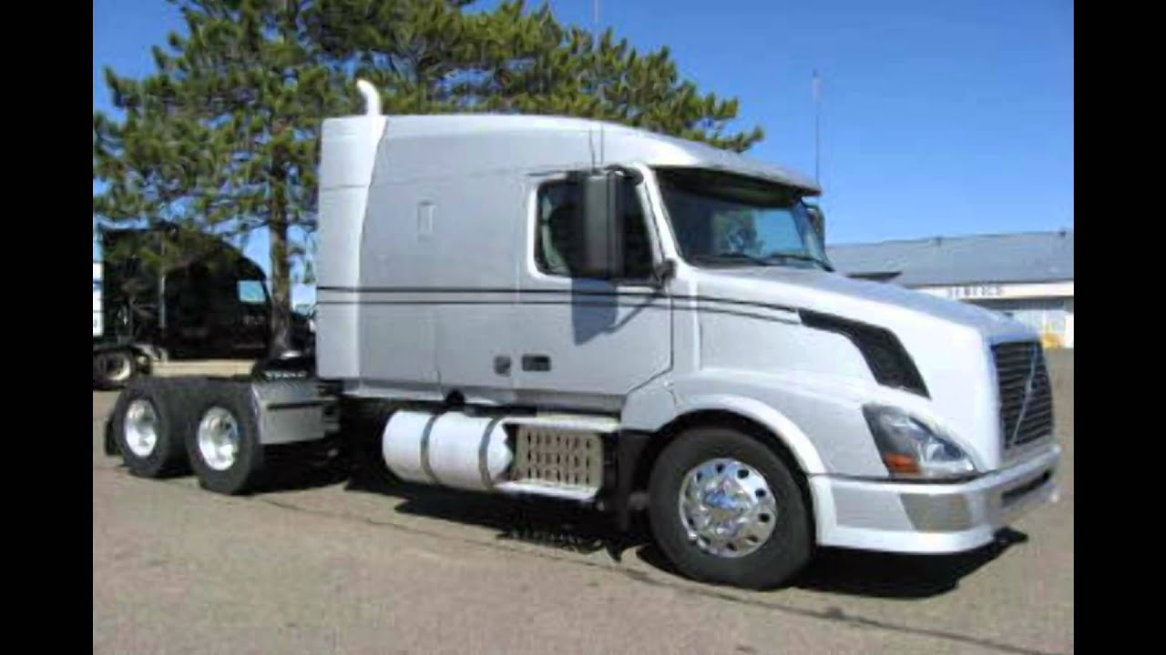 volvo paper w watch conventional double vnl bunk truck sleeper youtube