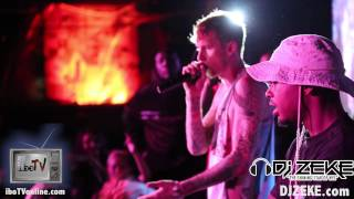 Machine Gun Kelly (MGK) Spits in Girls Mouth, Moons the Crowd, & Performs @ BB Kings
