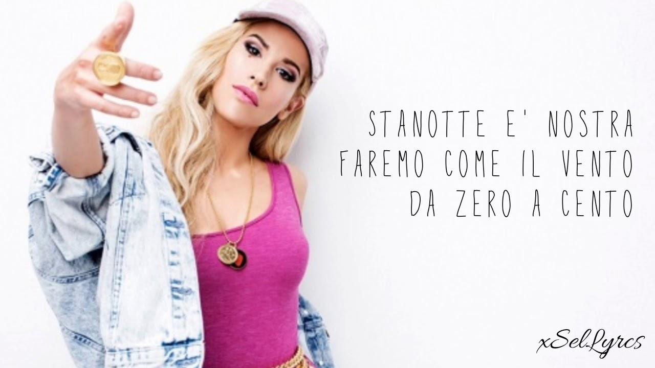 Baby K - Da zero a cento (Lyrics Video) - YouTube