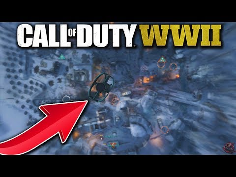 ATOMIC BOMB IN CALL OF DUTY WORLD WAR 2?! (COD WW2 25 Killstreak)