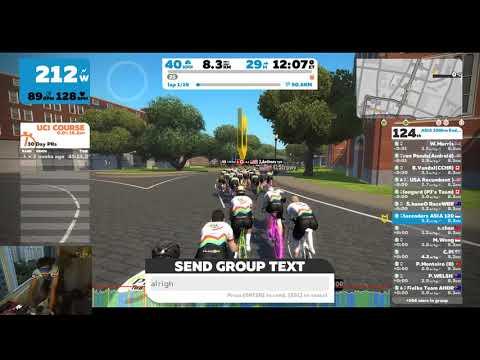 Zwift - ASIA 100km Endurance Ride, 60 finishers, Well Done!