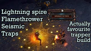 Cooldown Trapper. End game viable - Path of Exile (3.5 Betrayal)