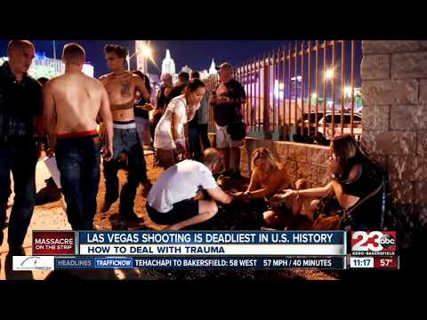 Clinical psychologist discusses emotional distress, mental health following Vegas shooting