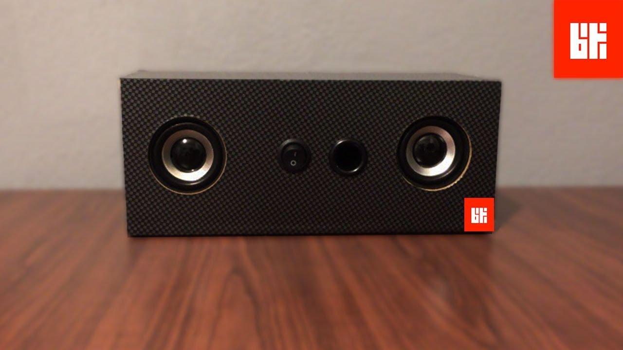 Kablosuz Bluetooth Hoparlör Yapımı - Ses Bombası - YouTube