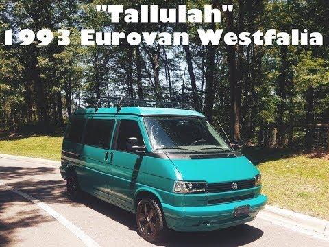 """My 1993 Volkswagen Eurovan Westfalia """"Tallulah"""" (before customization)"""