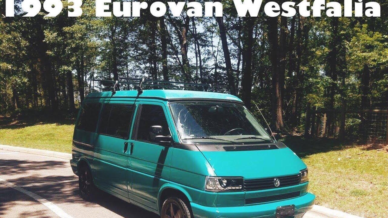 My 1993 Volkswagen Eurovan Westfalia