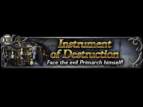 [FFRK] Instrument of Destruction Torment Dungeon D200 CM