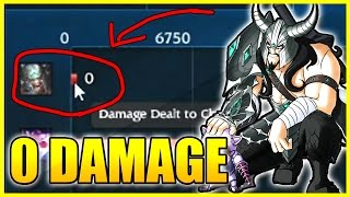 ZERO DAMAGE TRYNDAMERE CHALLENGE | League of Legends
