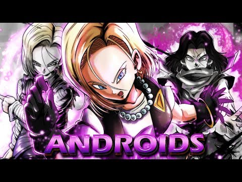 The NEW EX ANDROIDS!   Dragon Ball Legends