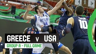 Greece v USA  - Group A Full Game - 2014 FIBA U17 World Championship