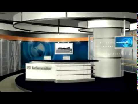 Escenografia Noticiero El Informador Venevision 2002flv