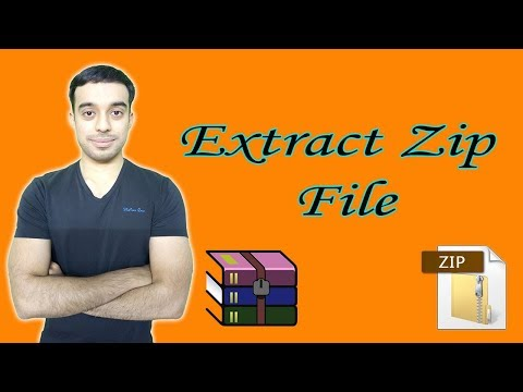 How To Extract Zip File | Unzip Files In Pc By D Marketing Wall
