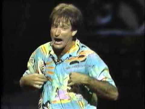 Robin Williams Stand Up - You can't make butter with toothpick!!! sex and foreplay!!!
