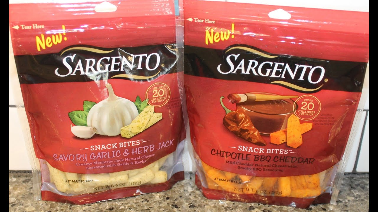 Sargento Snack Bites: Chipotle BBQ Cheddar and Savory ...