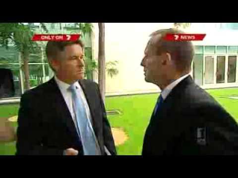Abbott 'insensitive' on camera