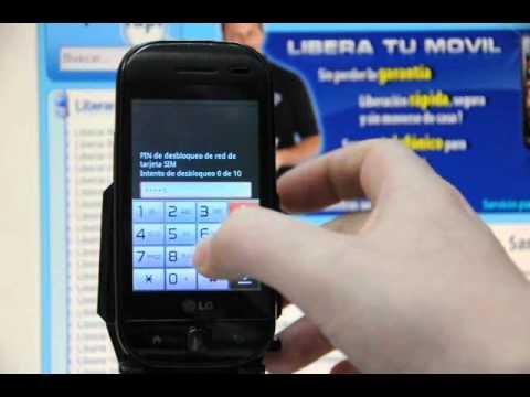 Liberar LG GW620, desbloquear LG GW620 de Orange - Movical.Net