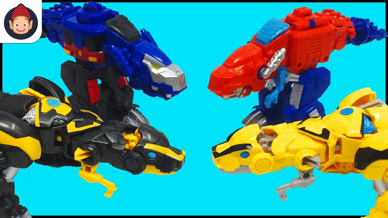 Transformers Rescue Bots Dinobots New Evil Optimus Prime