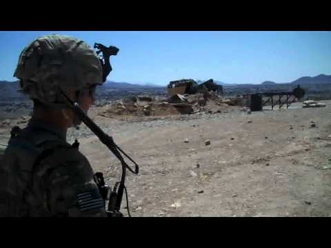 Fox Co., 2-506th PIR, COP Margah, Paktika, Afghanistan, April 2011