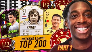 GOING FOR TOP 200! WEEKEND LEAGUE HIGHLIGHTS! 17-1...11 WINS TO GO!!!