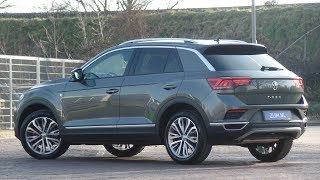 English review Volkswagen NEW T-roc Sport 2019 Indium Grey 18 inch Montego Bay Video