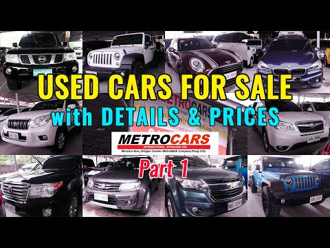 Second Hand Cars / Used Cars For Sale in the Philippines 2020 | Metrocars Part 1