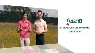 Objectif Galop® 4 : Déplacer les hanches du cheval