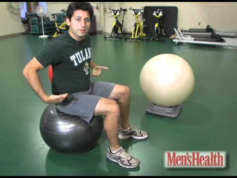How to Choose the Right Exercise Ball Men's Health Minute